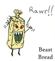 Beast Bread by TheChainsawUnicorn