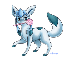 .: Glaceon :. by Aluri