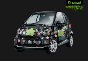 Smartcar - Salute the Frog by alizarinerose