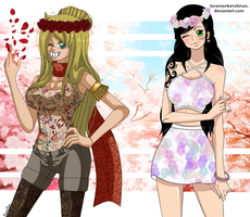 [ONE PIECE OC/COLLAB] Flower Time~ by RosiieChan