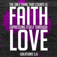 Galatians 5:6 by Treybacca