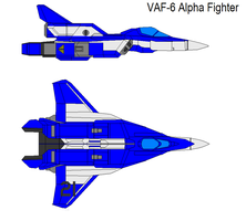 VAF-6 Alpha Fighter blue by bagera3005