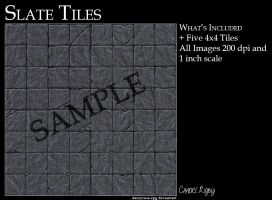 Slate Tiles by DaceyRose-RPG