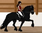 Helen Dressage for IllyDragonfly by xKhamsinStables
