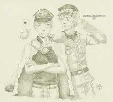 Prussia and Germany :: Contest Prize by maritery-san