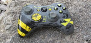 Fallout Xbox 360 Controler by DustinLicht