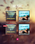 MUSIC Rainmeter cover concept by Mahm0udWally
