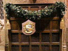 hogwarts Great hall film set tour house plaque by Sceptre63