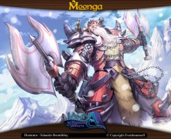 Moonga - Fire Itlan Warrior by moonga
