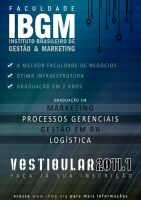 flyer - Faculdade IBGM 2 by lcdesigner
