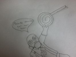 My pyro doodle by Demonic-Twins