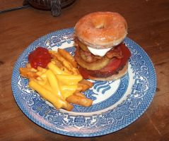 The Luther Burger: Pimped Out by Tsamie