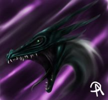 Angered Dragon by ADDaughtry