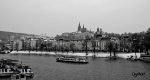 Prague - the river by OsaPhoto