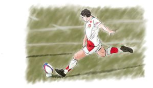 Rugby Player by RSmales