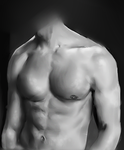 Male Body Study by Kipichuu