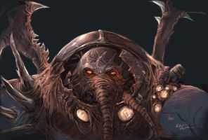 infested terran sketch by Kaoimhin7