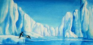Daily Doodle - Icebergs by mynti