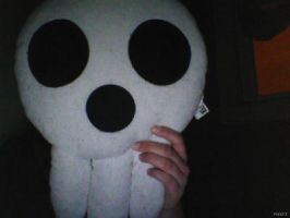 Skull pillow by Deaththekid1388