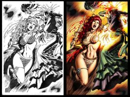 redsonja 49 pag 18 by wgpencil