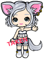Silver Kitty Adoptable [CLOSED] by mouldyCat