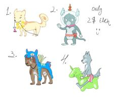 Characters for sale - 1 Left! by waatz