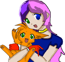 Dawnables and a Kitty :3 by TheButteryFriend