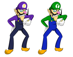 The Waluigi persona by faren916