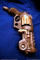 Steampunk Lanard X8 - WIP 2 by JohnsonArms