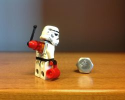 The Radiotrooper and his Screw by Carmine777