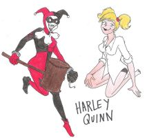 harley quinn. by ZOMBIES-GO-RAWR