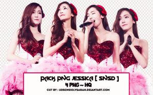 Pack png #9 : 4 png Jessica~SNSD by UdsonDollySarah