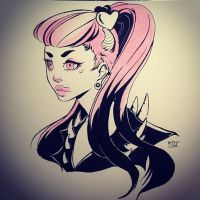 Punk Pink by KTOctopus