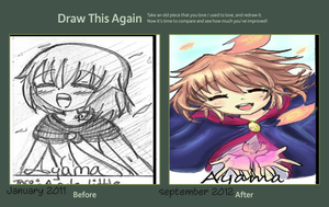 Draw this again contest by Ayama-chan22