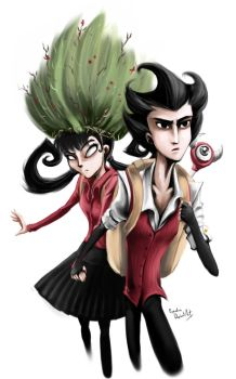 Don't starve Wilson and Willow 2 by propimol