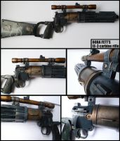 Boba Fett's EE-3 carbine rifle by Talfox