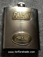 Fallout Vault-Tec flask by TimforShade