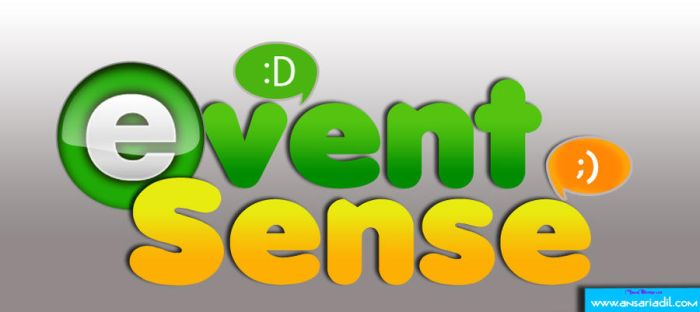 Event Sense Logo by adilansari