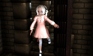MMD girl by practical training used 3DCG items by purufeido