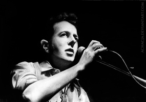 Joe Strummer by Achacja
