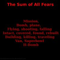 The Sum of All Fears by blackstormwarrior
