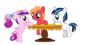 .:Cadnece,Big Mac and Shining Armor as CMCs:. by XAniKrawlerLazarX