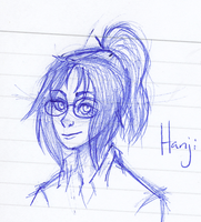 Hanji sketch by Marzi66