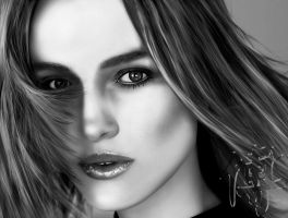 keira knightley digital paint by JoeDieBestie