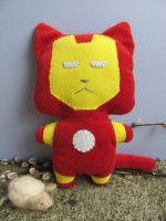 Iron Cat by mypetmoon