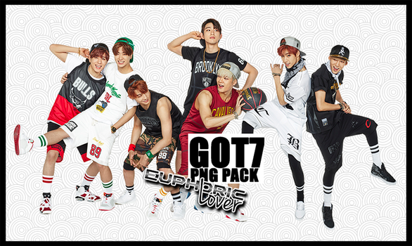 GOT7 PNG Pack by euphoriclover