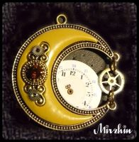 Steampunk oriental moon by Mirzhin