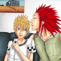 Happy AkuRoku Day 2012! by saki08