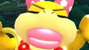 Wendy O. Koopa Wants a Kiss by tallsimeon2003