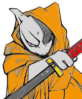 Caped-Mewtwo coulerd by madmick2299